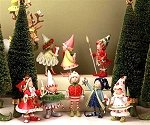Set of 8 Elves