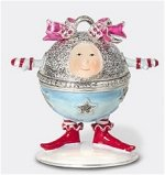 Baby Bell Jeweled Box A