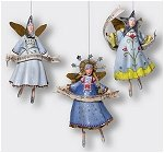 Silent Night Angels Set of 3