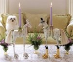 Annabelle and Arthur Horse Candle Holders